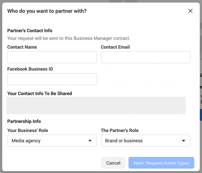 Facebook Business Manager Users
