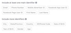 Facebook Custom Audience Data Email