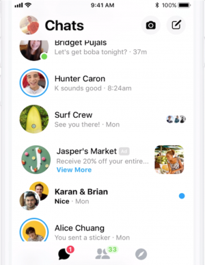 Messenger Inbox