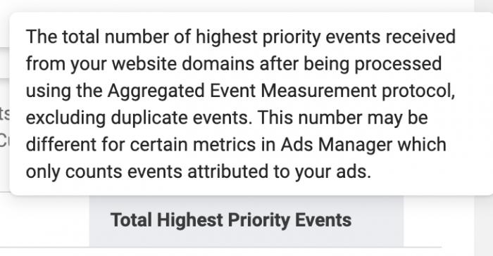 Facebook Ads Aggregated Event Measurement
