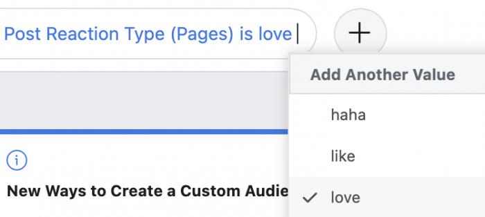 Facebook Analytics Filter