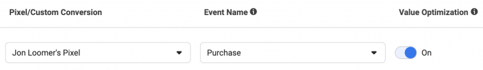 Facebook Aggregated Event Measurement Value Optimization
